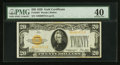 Small Size:Gold Certificates, Fr. 2402 $20 1928 Gold Certificate. PMG Extremely Fine 40.. ...