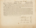 """Books:Americana & American History, [Civil War] General Orders to C. S. Webster, Assessor of WolfTownship in Lycoming County, ordering him to """"discover...and r..."""