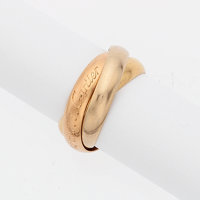 Tri-Color Gold Ring, Cartier