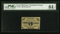 Fractional Currency:Third Issue, Fr. 1226 3¢ Third Issue PMG Choice Uncirculated 64 EPQ.. ...