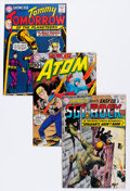 Silver Age (1956-1969):Miscellaneous, Showcase Group (DC, 1961-63).... (Total: 3 Comic Books)