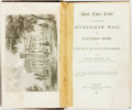"""Books:Americana & American History, [Pro-Slavery]. Robert Criswell. """"Uncle Tom's Cabin"""" Contrastedwith Buckingham Hall, the Planter's Home, or, a Fair View..."""