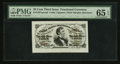 Fractional Currency:Third Issue, Fr. 1291SP 25¢ Third Issue Wide Margin Face PMG Gem Uncirculated 65 EPQ.. ...