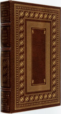Books:Fine Bindings & Library Sets, John Irving. SIGNED/LIMITED. The Cider House Rules. Franklin Center: Franklin Library, 1985. First edition. Limited ...