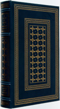 Books:Fine Bindings & Library Sets, Wright Morris. SIGNED/LIMITED. A Cloak of Light: Writing My Life. Franklin Center: Franklin Library, 1985. First edi...