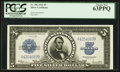 Large Size:Silver Certificates, Fr. 282 $5 1923 Silver Certificate PCGS Choice New 63PPQ.. ...