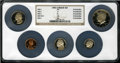 Proof Roosevelt Dimes: , 1983 10C No S PR69 Ultra Cameo NGC. Part of a Five-PieceNGC-Certified Proof Set. A pristine, brilliant specimen with deep... (Total: 5 coins)