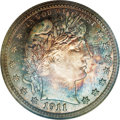 Proof Barber Quarters: , 1911 25C PR68 NGC. Once the higher grade thresholds are attained, the aesthetics of a coin advance it--or not--to the near-...