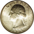 Washington Quarters: , 1932-D 25C MS64 NGC. This elusive, key issue had only 436,800pieces produced, and very few were set aside at the time of i...