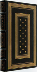 Books:Fine Bindings & Library Sets, Elie Wiesel. SIGNED/LIMITED. The Fifth Son. Franklin Center: Franklin Library, 1985. First edition. Limited to membe...