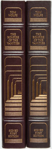 Books:Fine Bindings & Library Sets, Tom Wolfe. SIGNED/LIMITED. Two copies of The Bonfire of the Vanities. Franklin Center: Franklin Library, 1987. L... (Total: 2 Items)