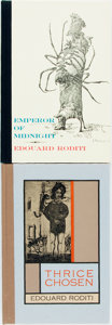 Books:Literature 1900-up, Edward Roditi. SIGNED/LIMITED. Pair of First Editions. BlackSparrow Press, [various dates]. Both are limited editions sig...(Total: 2 Items)