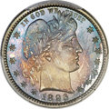 Proof Barber Quarters, 1896 25C PR67 Cameo PCGS. CAC....