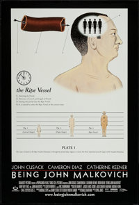 """Being John Malkovich and Other Lot (USA Films, 1999). One Sheet (27"""" X 41"""") SS Style B & Regular. Come..."""