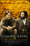 """Movie Posters:Drama, Good Will Hunting & Other Lot (Miramax, 1997). One Sheet (27"""" X 40""""), & International One Sheet (27"""" X 39.5""""). Drama.. ... (Total: 2 Items)"""
