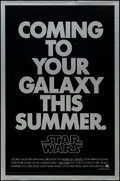 "Movie Posters:Science Fiction, Star Wars (20th Century Fox, 1977). One Sheet (27"" X 41"") Second Advance. Science Fiction.. ..."