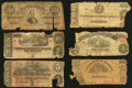 Confederate Notes:1864 Issues, A Selection of a Half Dozen Confederate and Virginia State Issues.. ... (Total: 6 notes)
