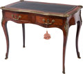 Furniture : French, A FRENCH LOUIS XV-STYLE KINGWOOD LADIES' WRITING DESK, 19thcentury. 30 x 39 x 21-1/2 inches (76.2 x 99.1 x 54.6 cm). ...