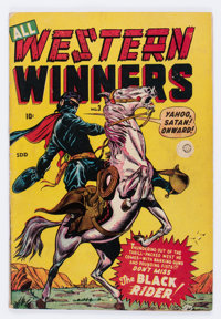 All Western Winners #3 (Marvel, 1949) Condition: VG