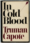 Books, Truman Capote. In Cold Blood. New York: Random House,[1965]. First printing. Dust jacket. Fine.. ...