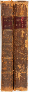 Books:Biography & Memoir, Letters Written by . . . Philip Dormer Stanhope, Earl ofChesterfield, To His Son. London: P. Dodsley, 1797. Volumesthr... (Total: 2 Items)