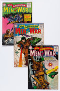 Golden Age (1938-1955):War, All-American Men of War Group (DC, 1955-56) Condition: AverageGD.... (Total: 9 Comic Books)