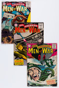 Silver Age (1956-1969):War, All-American Men of War Group (DC, 1956) Condition: Average GD/VG.... (Total: 8 Comic Books)