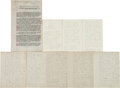Political:Memorial (1800-present), Lincoln Assassination: Eyewitness Accounts. ... (Total: 4 Items)
