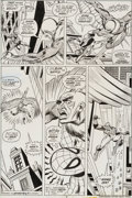 Original Comic Art:Panel Pages, Gil Kane and Mike Esposito Amazing Spider-Man #150 Page 7 Original Art (Marvel, 1975)....