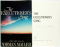 Books:Fiction, Norman Mailer. SIGNED. The Executioner's Song. Boston:Little, Brown and Company, [1979]. First Edition. Signe...
