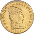 Early Quarter Eagles, 1805 $2 1/2 BD-1, R.4 -- Repaired -- PCGS Genuine. XF Details....