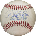 Baseball Collectibles:Balls, 2014 Derek Jeter Home Run #258 Baseball with MLB Authentication....