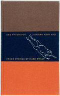 Books:Fine Press & Book Arts, Joseph Low, illustrator. SIGNED/LIMITED. Mark Twain. TheNotorious Jumping Frog & Other Stories. New York: The L...