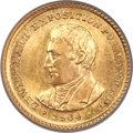 Commemorative Gold, 1904 G$1 Lewis and Clark MS66 PCGS....