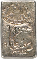 Ingots, San Francisco Mint Silver Ingot. 5.67 Ounces....