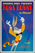 """Movie Posters:Animation, Bugs Bunny in Concert & Other Lot (Warner Brothers, 1990). One Sheets (2) (27"""" X 40"""" & 27"""" X 41"""") SS Regular & DS Advance. A... (Total: 2 Items)"""
