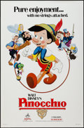 """Movie Posters:Animation, Pinocchio & Other Lot (Buena Vista, R-1984). One Sheets (2)(27"""" X 41""""). Animation.. ... (Total: 2 Items)"""