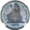 Patterns, 1870 10C Standard Silver Ten Cents, Judd-826, Pollock-916, R.7, PR66 NGC. CAC....
