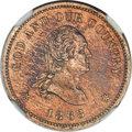 Patterns, 1863 2C Two Cents, Judd-310, Pollock-375, Low R.7, PR62 NGC....
