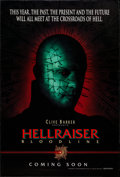 "Movie Posters:Horror, Hellraiser: Bloodline & Others Lot (Dimension, 1996). One Sheets (2) (27"" X 40"", 27"" X 41""), Special Poster (11.75"" X 17.25)... (Total: 4 Items)"