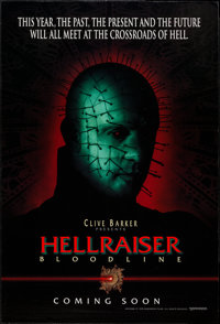 "Hellraiser: Bloodline & Others Lot (Dimension, 1996). One Sheets (2) (27"" X 40"", 27"" X 41"")..."