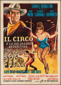 "Movie Posters:Drama, Circus World (Paramount, 1965). Italian 2 - Foglio (39"" X 55"").Drama.. ..."