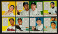 Baseball Cards:Lots, 1953 Red Man Baseball Card Collection (24) - All With Tabs. ...