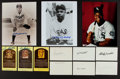 Autographs:Photos, 1930's-2000's Baseball HOF & Stars Autographed Photographs,Index Cards & Postcards Lot of 20....