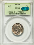 Proof Buffalo Nickels: , 1915 5C PR64 PCGS. CAC. PCGS Population (73/327). NGC Census:(74/237). Mintage: 1,050. Numismedia Wsl. Price for problem f...
