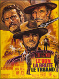 "Movie Posters:Western, The Good, the Bad and the Ugly (United Artists, R-1970s). FrenchGrande (45.5"" X 61""). Western.. ..."