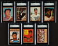 Baseball Cards:Sets, 1962 Topps Baseball Complete Set (598) Plus Both Reniff #139 Variations (600). ...