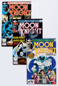 Modern Age (1980-Present):Superhero, Moon Knight Group (Marvel, 1980-84) Condition: Average VF+....(Total: 36 Comic Books)