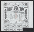 Confederate Notes:Group Lots, Ball 199 Cr. UNL $500 1862 Trans-Mississippi Bond Very Fine.. ...