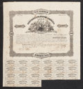 Confederate Notes:Group Lots, Ball 94 Cr. UNL $500 1862 Trans-Mississippi Bond Very Fine. . ...